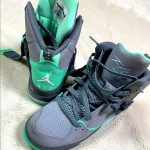 Nike Air Jordan Flight 45 Hightops Grey & Mint 🔥